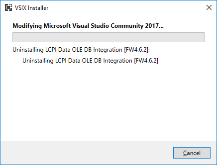 Connection to the Firebird database in Visual Studio 2017